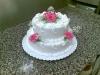 Marcipánový patrový dort